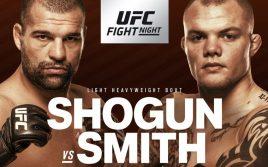 Результаты взвешивания к UFC Fight Night 134: Руа — Смит