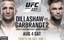 Прямая трансляция боя Ти Джей Диллашоу - Коди Гарбрандт 2. Смотреть онлайн UFC 227