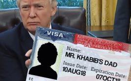 Хабиб Нурмагомедов сделал заявление о получении американской визы для своего отца