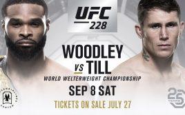 Результаты турнира UFC 228 «Вудли — Тилл»