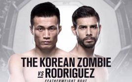 Результаты взвешивания к UFC Fight Night 139: Родригес — Сун Юн