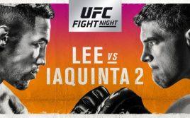 Результаты взвешивания к UFC on FOX 31: Яквинта — Ли 2