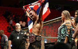 Макс Холлоуэй — Карьера в цифрах, UFC 231
