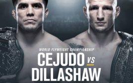 Результаты взвешивания к UFC Fight Night 143: Сехудо — Диллашоу
