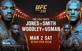 Джон Джонс — Энтони Смит, главные факты титульных боев UFC 235