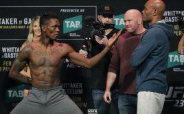 Результаты турнира UFC 234: Адесанья — Сильва