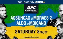 Результаты взвешивания UFC on ESPN +2