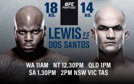 Дос Сантос — Деррик Льюис, Факты о бойцах UFC Fight Night 146