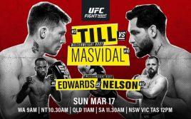 Результаты взвешивания UFC Fight Night 147: Тилл — Масвидаль