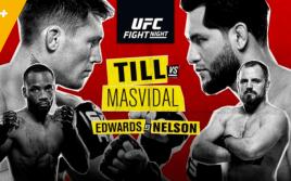 Результаты турнира UFC Fight Night 147: Тилл — Масвидал