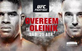 Результаты взвешивания UFC Fight Night 149: Оверим — Олейник
