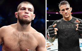 Ставки на UFC: бой Хабиб Нурмагомедов против Дастина Порье