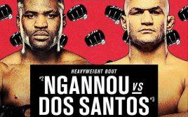 Результаты взвешивания UFC on ESPN 3: Нганну — Дос Сантос