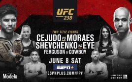 Результаты турнира UFC 238: Сехудо — Мораес/ Фергюсон — Серроне