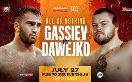 Джои Давейко: Побью Гассиева и выйду на бои с лучшими тяжами!