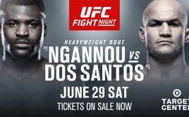 Результаты турнира UFC on ESPN 3: Нганну — Дос Сантос
