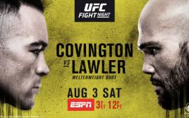 Результаты турнира UFC on ESPN 5: Ковингтон — Лоулер