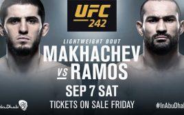 Ислам Махачев — Дави Рамос, UFC 242