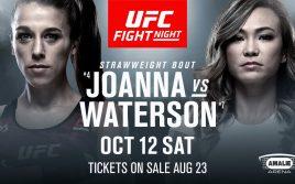 Йоанна Енджейчик — Мишель Уотерсон, факты перед UFC