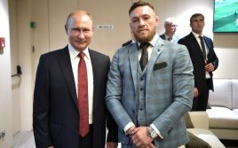 Конор Макгрегор отреагировал на охрану Путина