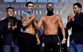 Белью: Александр Усик побьет любого боксера своих габаритов
