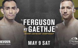 Результаты турнира UFC 249: Фергюсон — Гэтжи