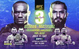 Результаты турнира UFC 251: Масвидал — Усман