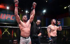 Результаты турнира UFC Fight Night 176: Оверим — Сакаи