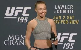Роуз Намаюнас намерена вернуть пояс UFC
