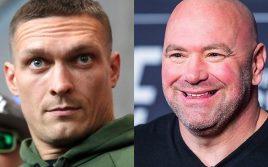 Дана Уайт от лица UFC обратился к Александру Усику!