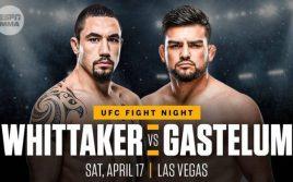Результаты турнира UFC Vegas 24: Уиттакер — Гастелум