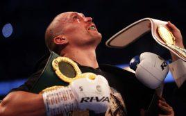 Абсолютный чемпион похвалил выступление Александра Усика