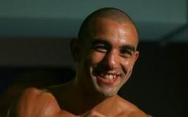 Sam Soliman during training at his St.Kilda gym.