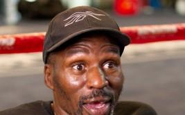 Floyd Mayweather Jr. Media Day at Mayweather Boxing Gym in Las Vegas, NV on September 6, 2011