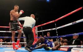 MATCHROOM BOXING, RULE BRITANNIA 30-5-15 THE O2, LONDON  WBC INTERNATIONAL HEAVYWEIGHT CHAMPIONSHIP ANTHONY JOSHUA V KEVIN JOHNSON