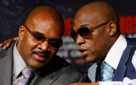 Floyd Mayweather Jr. v Shane Mosley Final News Conference