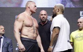 UFC 200: Марк Хант - Брок Леснар (видео боя)