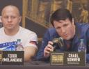 Федор Емельяненко заткнул Чела Соннена; Мейвезер — Макгрегор трансляция в России